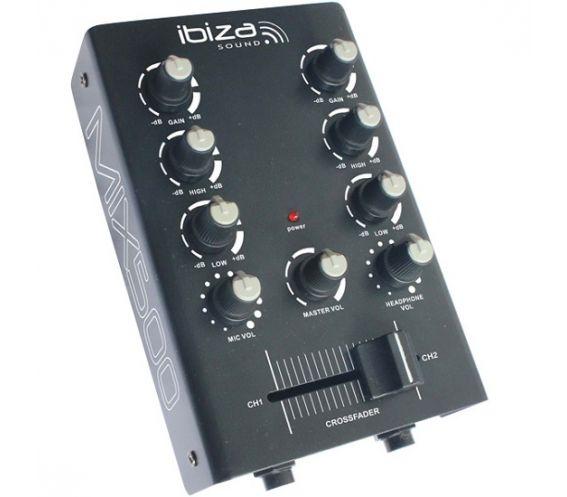 Ibiza Sound Mix500 2-Channel DJ Mixer