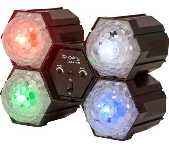 Ibizia Light JDL4-Astro Running Ball Lighting Effect Front