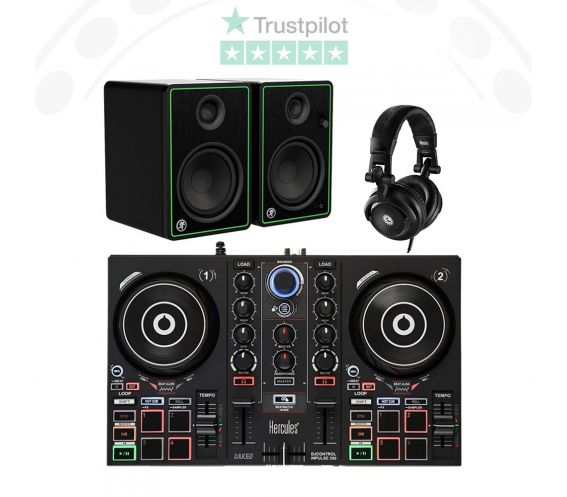 Hercules Inpulse 200 DJ Equipment Package Deal