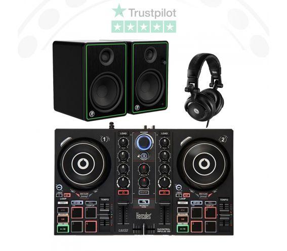 Hercules Inpulse 200 DJ Equipment Package Deal