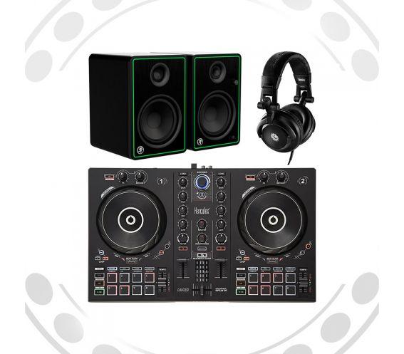 Hercules Complete DJ Equipment Bundle