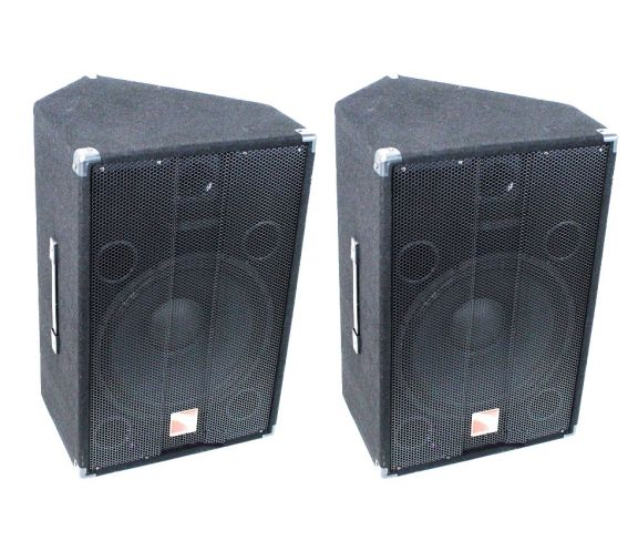 Intimidation PWX 15 Active PA Speakers