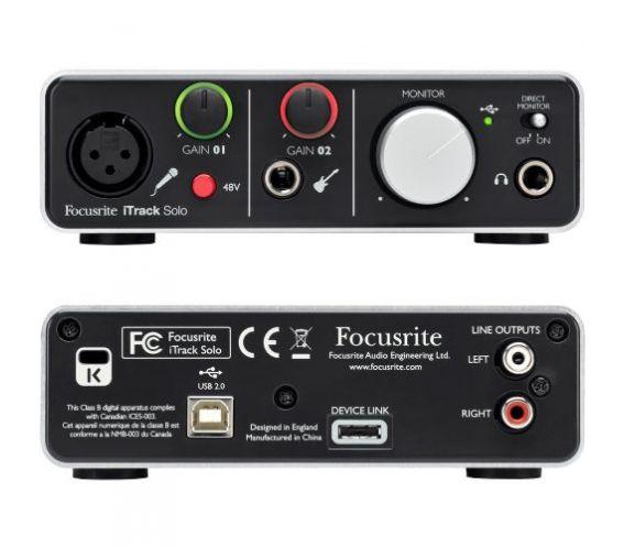 iTrack Solo Lightning Audio Interface