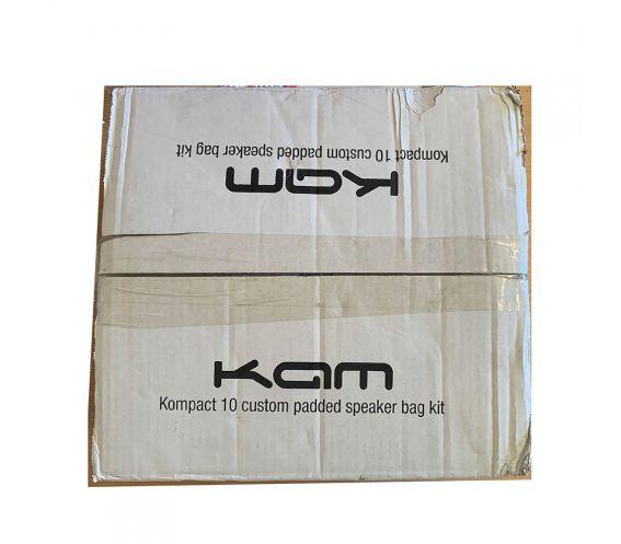 KAM Kompact 10 Custom Padded Speaker Bag Kit