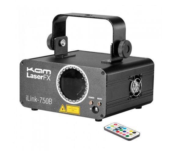 Kam iLink 750B Laser Light 500MW Blue Lighting Effect inc IR Remote