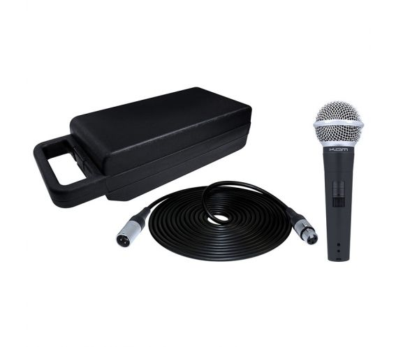 Kam KDM580 V3 Dynamic vocal microphone kit