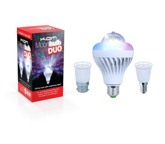 KAM Moonbulb Duo LED Lighting Effect
