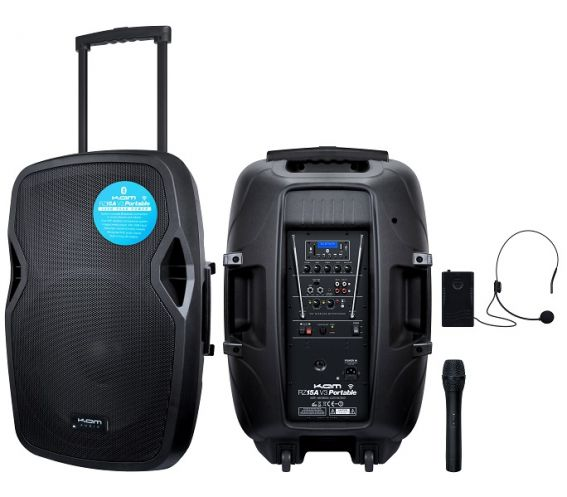 KAM RZ15A V3 Portable PA-BT Speaker System
