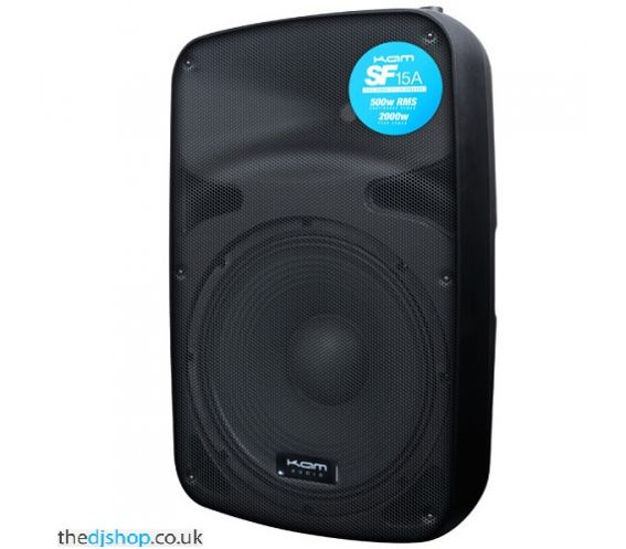"""Kam SF15A 15"""" 500w RMS ACTIVE PA SPEAKER"""
