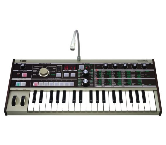 Korg MicroKorg Synthesizer and Vocoder Keyboard