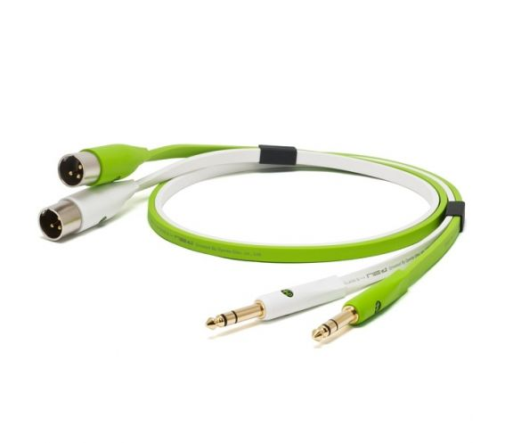 Neo/ Oyaide D+ Class B TS 1/4TRS TO XLR MALE 2M Cable