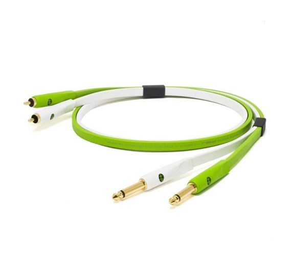 Neo/ Oyaide D+ Class B RTS 1/4 TRS TO RCA 2M Cable