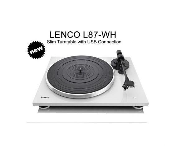 Lenco L87-WH