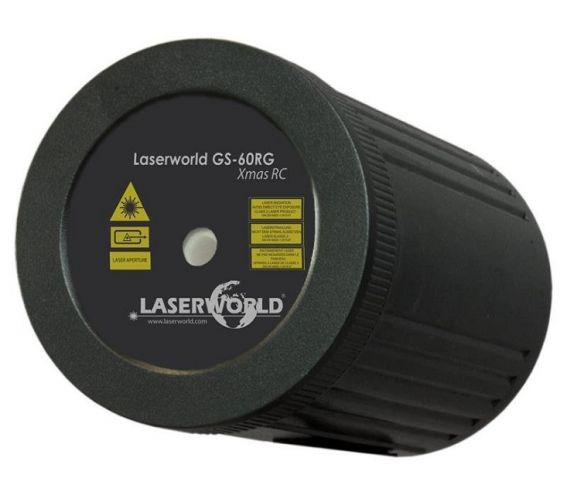 Laserworld GS-60RG Christmas Laser Lighting Effect