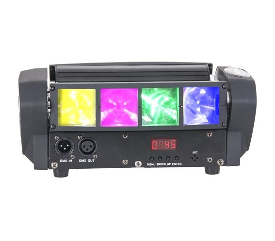 Ibiza Light LED8-Quad Spider Light Effect