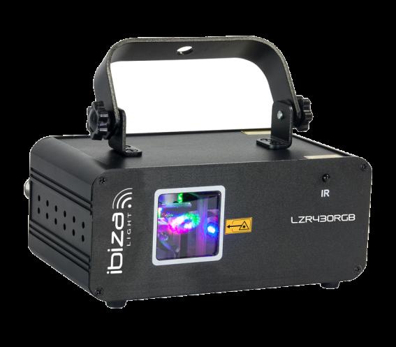 Ibiza Light LZR430-RGB Front