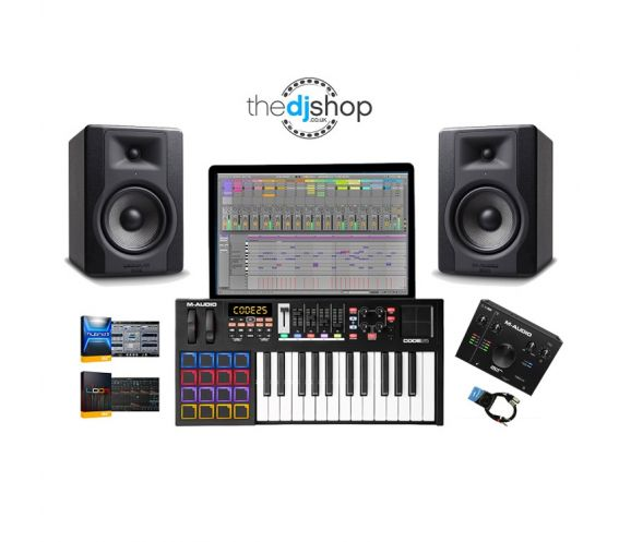 M-Audio Music Production Package Bundle