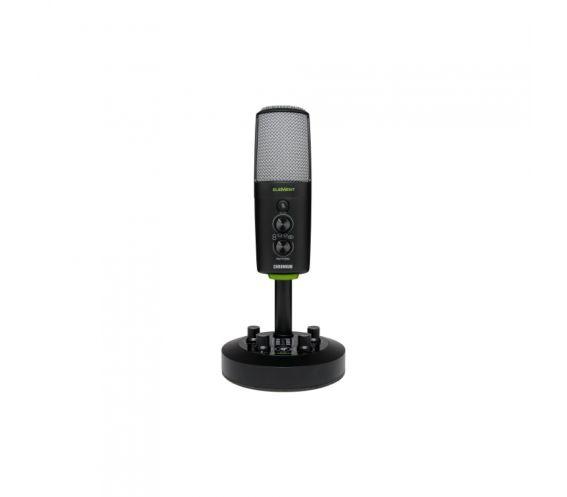 Mackie EM-CHROMIUM Premium USB Condenser Microphone Front