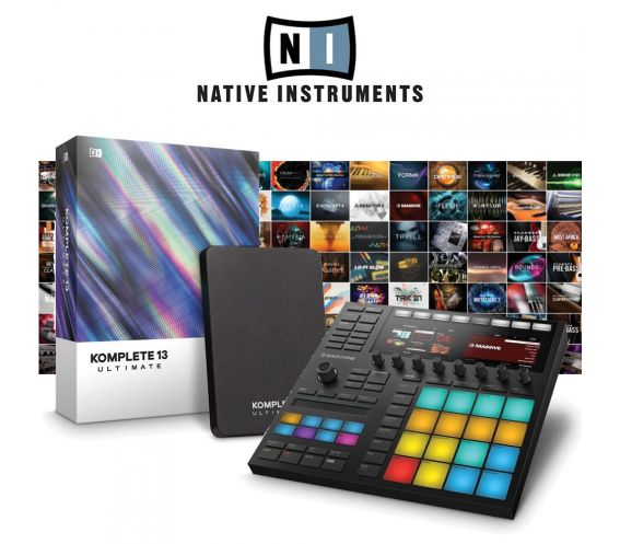 Native Instruments Maschine MK3 & Komplete 13 Ultimate