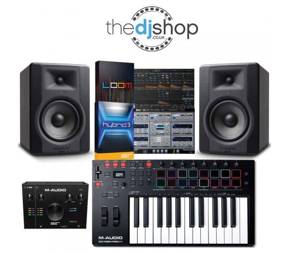 M-Audio Music Production Package Bundle
