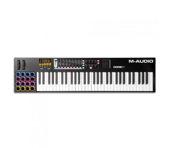 M-Audio Code 61 Black MIDI Keyboard Controller Top