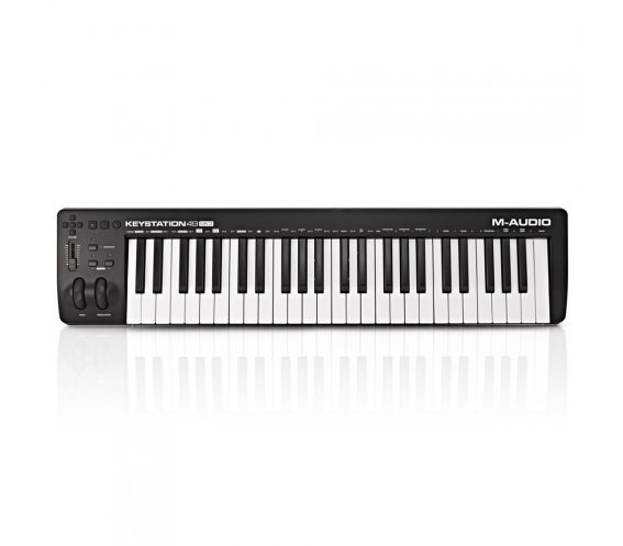 M-Audio Keystation 49 MK3 MIDI Keyboard Controller Top