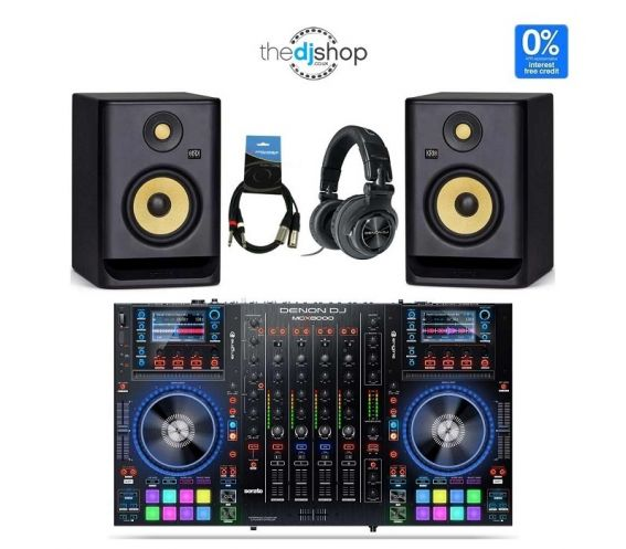 Denon MCX8000 - RP5 and HP1100 DJ Controller Package