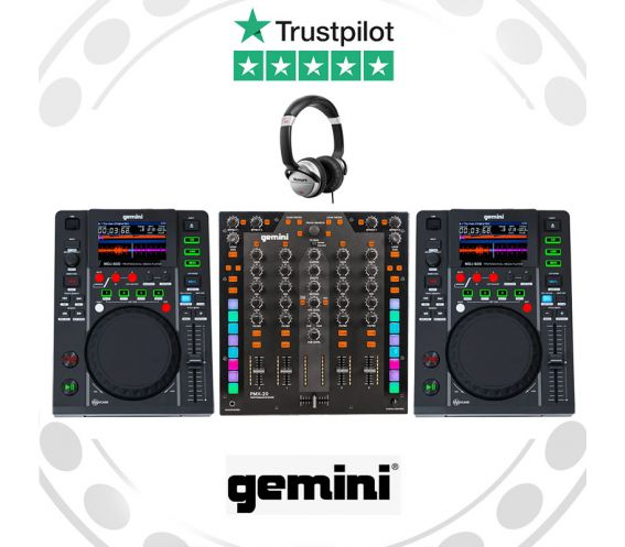 Gemini MDJ-600 & PMX-20 J Equipment Bundle