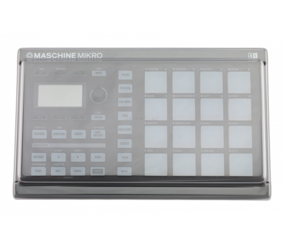 Decksaver Native Instruments MASCHINE MIKRO Cover Smoked/Clear