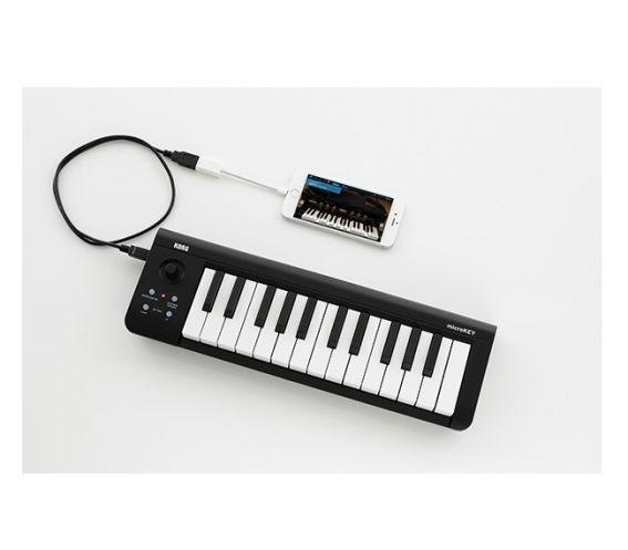 Korg MicroKey2 In Use