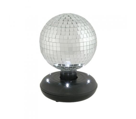 Mirrorball with LED Base