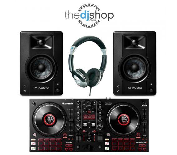 Mixtrack Platinum FX DJ Bundle