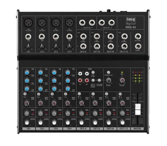 IMG Stageline MMX-44 8-Channel Audio Mixer