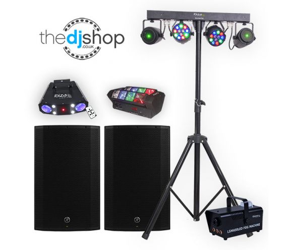 Mobile DJ Starter Lighting and Speaker Package