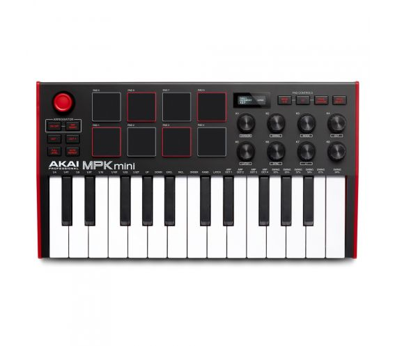 Akai MPK Mini MK3 Top View
