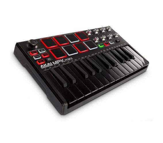 Akai MPK Mini MK2 Limited Edition Black MIDI Keyboard