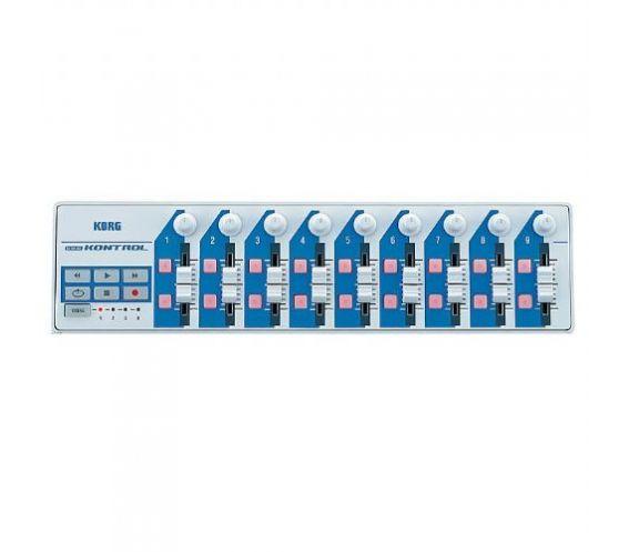 nanoKONTROL Slim Line USB Controller