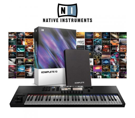 Native Instruments S61MK2 & Komplete 13 Bundle Deal