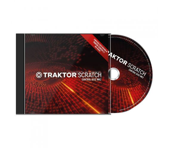 Native Instruments Traktor Scratch Control CD Mk2 (Pair
