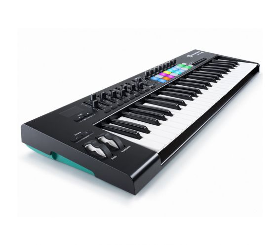 Novation Launchkey 49 MK2 Midi Keyboard Controller with RGB Launch Pads