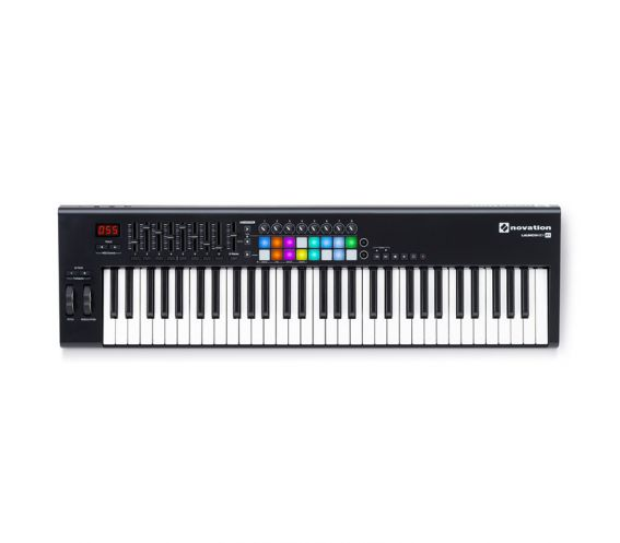 Novation Launchkey 61 MK2 Midi Keyboard Controller with RGB Launch Pads