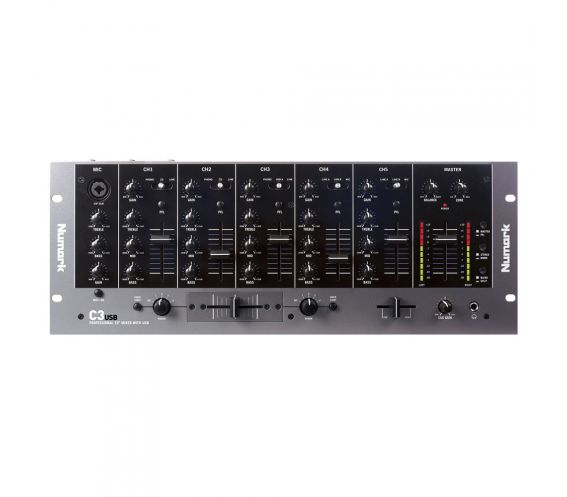 Numark C3 USB Five Channel DJ Mixer