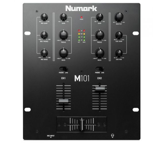 Numark M101 Solid two channel all purpose mixer for DJs