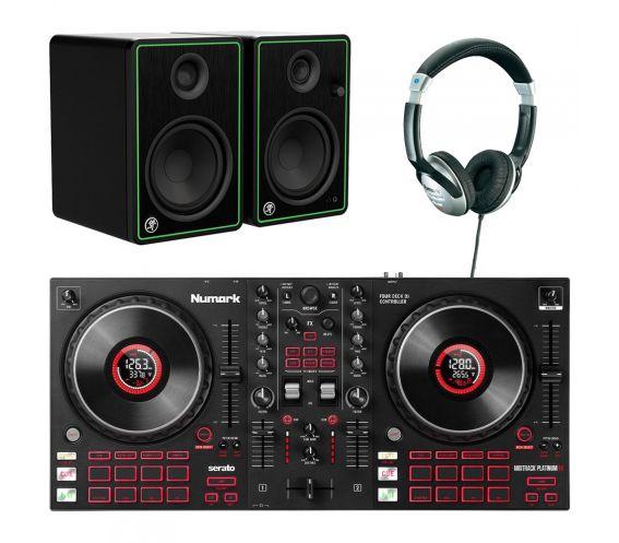 Numark Mixtrack Platinum FX DJ Controller Package Deal