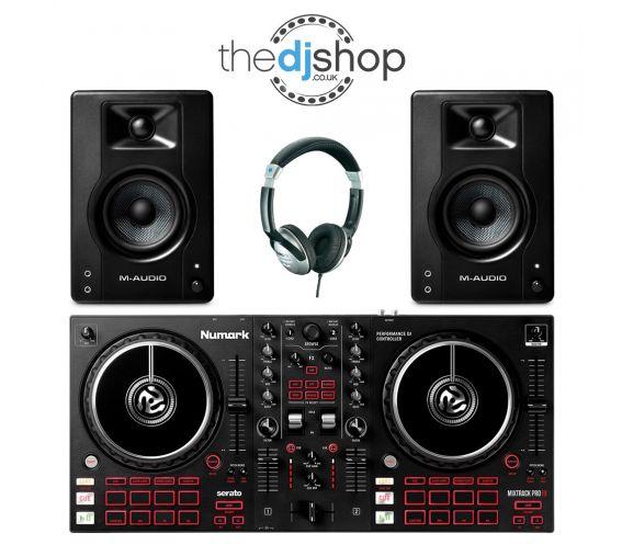 Numark Mixtrack Pro FX DJ Bundle