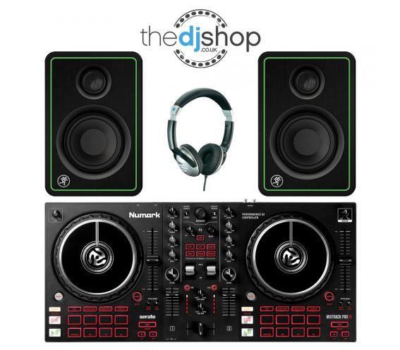 Numark Mixtrack Pro FX DJ Starter Bundle Deal