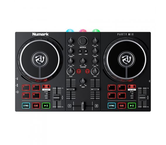 Numark Party Mix MK2 DJ Controller with Built-in Light Display