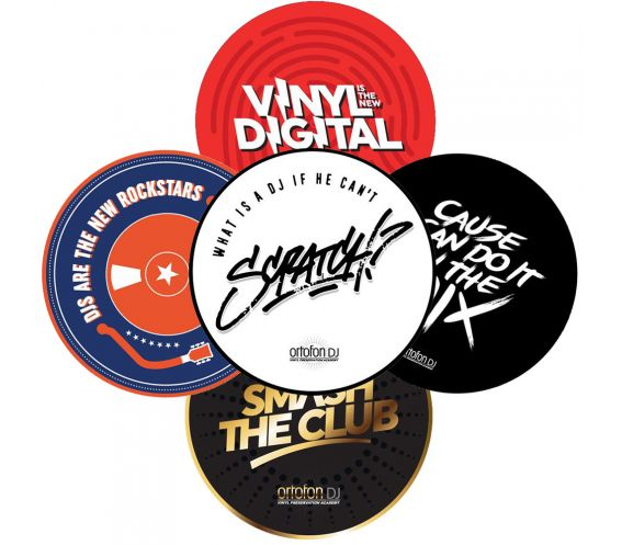 Ortofon Limited Edition Slipmats (Pair)