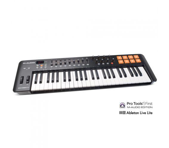 M-Audio Oxygen 49 MK4 USB MIDI Keyboard Controller
