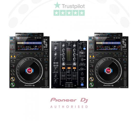 Pioneer CDJ-3000 and DJM-450 DJ Bundle